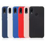 Bakeey Smooth Liquid Silicone Cover posteriore in gomma Custodia protettiva per Xiaomi Redmi Note 7/Redmi Note 7 Pro