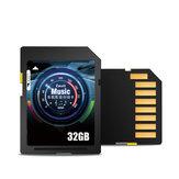 Z-SUIT ZSUSD16 SD-minneskort 8GB / 16GB/32GB/64GB / 128GB C10 Hög hastighet 4K UHD SD-kort MP3 MP4 Datalagringskort för körspelare DV DSLR-kamera antenn Drone