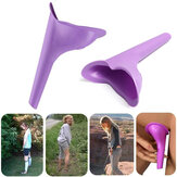 IPRee® Portable Outdoor Perempuan Urinal Toilet Soft Silicone Travel Stand Up Perangkat Kencing Saluran