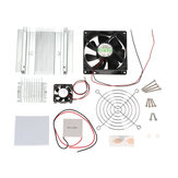 Semiconductor Chilling Plate Cooling fan Kit TEC1-12706 Thermoelectric Peltier Cooler Refrigeration Cooling System