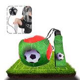 1.8M 3D Futbol Kick Trainer Ayarlanabilir Esneklik Futbol Kontrolü Beceri Uygulama Ekipmanları Futbol Eğitimi Aksesuarları Kit