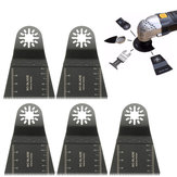 5pcs 65mm High Carbon Steel E-cut Long Teeth Saw Blade Oscillating Multitool