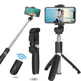 L01S Selfie Stick Wireless bluetooth Extendable Handheld Monopod Foldable Mini Tripod With Shutter Remote For Sport Camera Phone