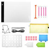 34 Teile / satz DIY Diamant Gemälde Werkzeug Kreuzstich Werkzeug Set w / Copy Board für DIY Kunsthandwerk