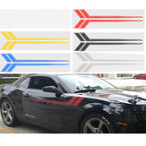 68''x8.5 '' Car hash Stripe Racing Graphic Fender Decal Sticker PER Chevy