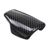 Capuchon de couvercle de tête de bouton de changement de vitesse en fibre de carbone pour Audi A4 B9 A5 Q7