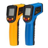 600 ℃ Infraröd Digital Temperatur LCD Laser Termometer Ej Kontakt IR Ny