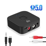 Vikefon NFC-enabled bluetooth V5.0 Audio Transmitter Receiver 3.5mm Aux 2RCA Wireless Audio Adapter For TV PC Speaker Car Sould System Home Sound System