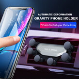 Bakeey Upgrade Air Cushion Gravity Linkage Automatic Lock Air Vent Car Phone Holder for 4.0-6.5 Inch Smart Phone for iPhone 11 Samsung Galaxy Note 10 Xiaomi Redmi Note 8 Pro