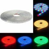 220V 13M 5050 LED SMD Outdoor wasserdichtes flexibles Bandseil-Streifen-Licht Weihnachten