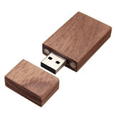 Walnut Wood 16GB USB 2.0 Flash Drive With Wood Box For Laptop Notebook Computer