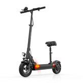 [EU DIRECT] JOYOR Y6-S 500 W 48 V 18 Ah 10 inch opvouwbare elektrische scooter met stoel 40 km / u Topsnelheid 75 km Max. Kilometerstand E-scooter voor stad