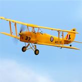 Dynam Tiger Moth V2 1270 mm Spannweite EPO Doppeldecker Warbird RC Flugzeug PNP mit verbessertem Stromversorgungssystem