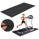 Tapis de tapis de course 150x75cm noir de sports de plein air remise en forme Yoga tapis courant machine pad