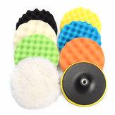 8pcs 7 Inch Sponge Polishing Waxing Buffing Pads