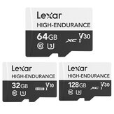 32/64 / 128GB High-Endurance UHS-I Class 10 High Speed Videos Recording Storage IPX7 Impermeável TF / SD Memory Card para DSLR Camera Automobile Data Recorder