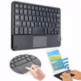 81 teclas Bluetooth Teclado con teclado táctil para teléfono Samrt / Tablet / Android 3.0 / Windows XP / 7/8