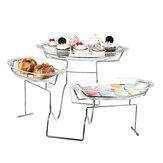 3 Tier Cupcake Stand Kuchen Dessert Display Tray Inhaber Hochzeitsfeier