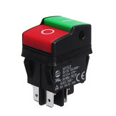 KEDU HY52 250V 12A 4Pins Electric Push Button Switch For Mechanical Device