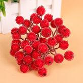 20pcs Artificial Simulation Foam Berry Pomegranate Fruit Bouquet Garlan Wedding Party Decoration