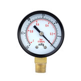 TS-50-1 + 1 0 ~ -30inHg 0 ~ -1Bar Druckmanometer 50 mm Mini-Luftvakuum-Manometer Manometer