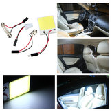 48 LED Chip COB T10 BA9S der Girlande Haube Weiß Interior Light Panel Auto Birnen Lampen