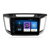 YUEHOO 9 polegadas Android 10.0 rádio estéreo para carro reprodutor multimídia 2G / 4G + 32G GPS WIFI 4G FM AM RDS bluetooth para Hyundai ix25 creta 2014-2017