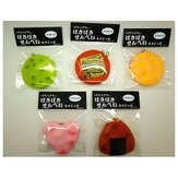 6cm Squishy Sound Crack Biscuit Cookie Vedhæng Japansk Style Cracker Kids Gave Med Emballage