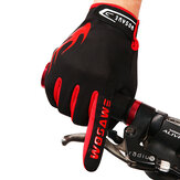 WOSAWE Herfst- en Winter Riding Fleece Handschoenen Fiets Touch Screen Full Finger Handschoenen