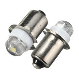 2 STKS P13.5S LED Zaklamp Vervanging Lamp 0.5 W 100LM Torch Werklamp Lamp DC 6 V Pure Wit