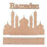 MDF عيد مبارك رمضان الإسلامية هدية التقويم التقويم علامة صينية زخارف