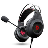 Xiberia N2U Gaming Headset USB Wired Bass Gaming Headphone 7.1 Surround Stereo Headphones Earphone with  LED Lights Microphone for PS4 Computer PC Gamer