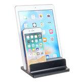 Ruimtebesparende Desktop Aluminium Verticale Laptop Houder Tablet Stand Holder voor Laptop Notebook Tablet Smart Phone Macbook iPhone