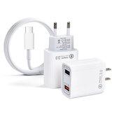 STARTRC Çift USB Bağlantı Noktası DIJ Mavic Mini 2 Drone ve Uzaktan Kumanda için USB Şarj Kablosu ile Ev Hızlı Şarj Cihazı