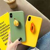 Moda 3D Candy Color Fruit Patrón Soft TPU Protective Caso para iPhone X/XS / XR / XS Max / 7/8/7 Plus/8 Plus/6 / 6S / 6S Plus/6 Plus