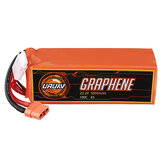 URUAV GRAPHENE 6S 22.2V 5000mAh 100C Lipo Battery XT90 Plug for RC Drone