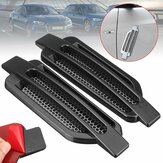 Pair Black Car Auto Side Air Flow Fender Stickers Intake Vent Grille Cover Decor