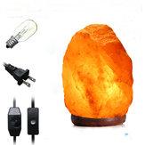 28 X 17см натуральный гималайский ионный очиститель воздуха Rock кристалл соли лампа настольная ночь свет