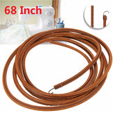 68 Inch Brown Softer Leather Treadle Belt For Singer Sewing Machine With Metal Hook