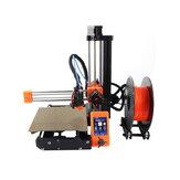 Clone Prusa Mini stampante 3D Schermo a colori da 2,8 pollici Kit completo fai da te 180 * 180 * 180 mm Dimensioni di stampa Alimentatore MW