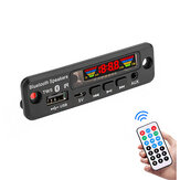 5V Bluetooth 5.0 MP3 Decoder Tampilan Spektrum LED APE Lossless Decoding TWS Dukungan FM USB AUX EQ Aksesoris Mobil