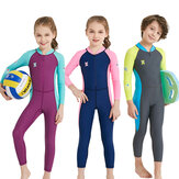 UPF50+ UV-Proof Children Full Body Wetsuits Kids Swimwears Diving Suits For Boys Girls Surfing Water Sports