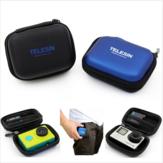 Telesin mini-saco de proteção câmera caso de GoPro 4 3 3 2 1 mais Xiaomi Yi Câmera