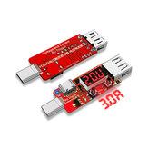 Type-C PD3.0 Цифровой вольтметр Амперметр Тестер Прибор Автоматическая панель быстрого заряда
