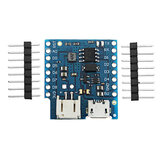 Battery Shield V1.2.0 Expansion Board For D1 Mini Single Lithium Battery Charging & Boost
