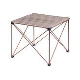 Naturehike Mesa de dobramento portátil ao ar livre Mesa de picnic de alumínio para acampar