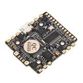HGLRC F4 Zeus F4 Flugsteuer Integriert mit OSD BEC PDB AIO 15A BLheli_S 4 In 1 ESC für RC Renndrohne