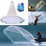 Outdoor El Atmak Balıkçılık Net Döküm Kolay Balıkçılık Yem Yakalama Netleştirme Cast Mesh