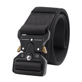 Casual Nylon Tactical Belt Adjustable Automatic Buckle Wear-resistant Outdoor Canvas Casual Belt For Men