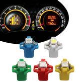 10 pcs 12 V T5 B8.3D W3W 5050 LED Instrument Lumières Tête de Tableau de bord Dash Gauge ampoule